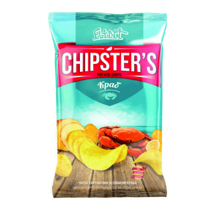 Чіпси Chipsters з крабом (130 г)
